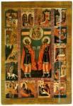 Святые Косма и Дамиан, с житием