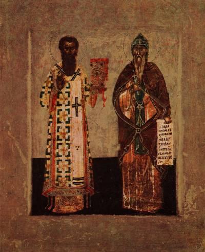 Святой Симеон и святой Савва