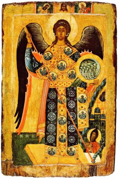 Архангел Михаил лоратный, с «Чудом в Хонех»