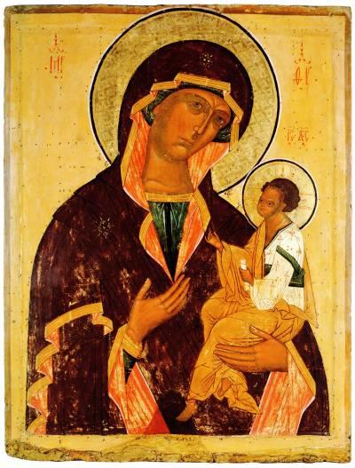 Богоматерь Одигитрия (в типе «Грузинской»)