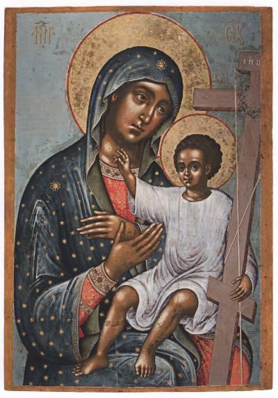 Новоникитская икона Богоматери