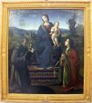 Богоматерь с Младенцем и святыми Франциском и Марией Магдалиной