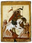 Мученики Флор и Лавр на конях