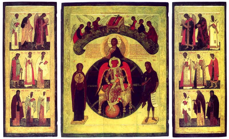 София Премудрость Божия, с избранными святыми