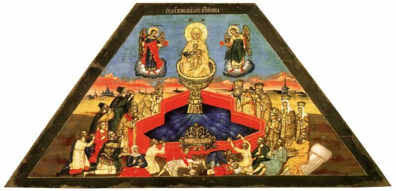 Икона Богоматери «Живоносный источник»