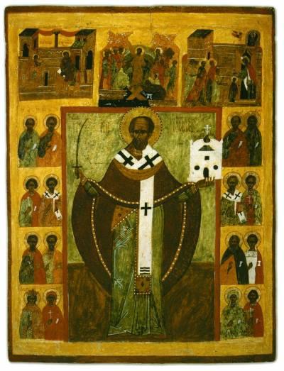 Никола Можайский, с праздниками и избранными святыми