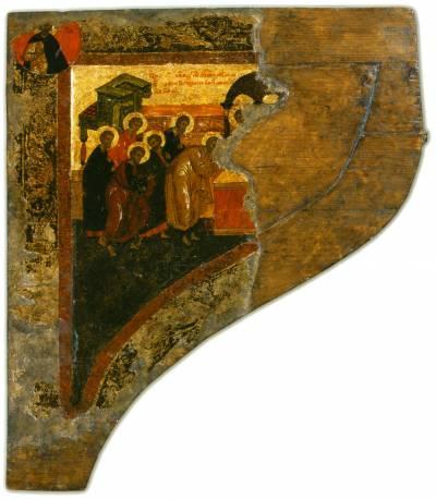 Сень Царских врат (левая часть)