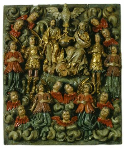 Троица Новозаветная в силах небесных