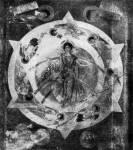 Роспись купола преддверия церкви в Мораче