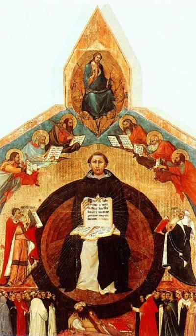 Триумф святого Фомы Аквинского