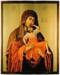 Икона Богоматери «Взыграние Младенца»