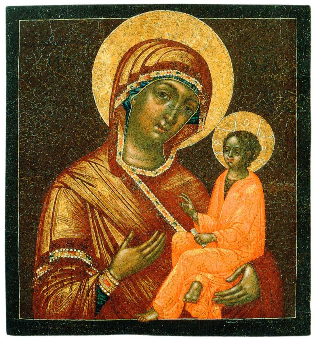 Тихвинская икона Богоматери