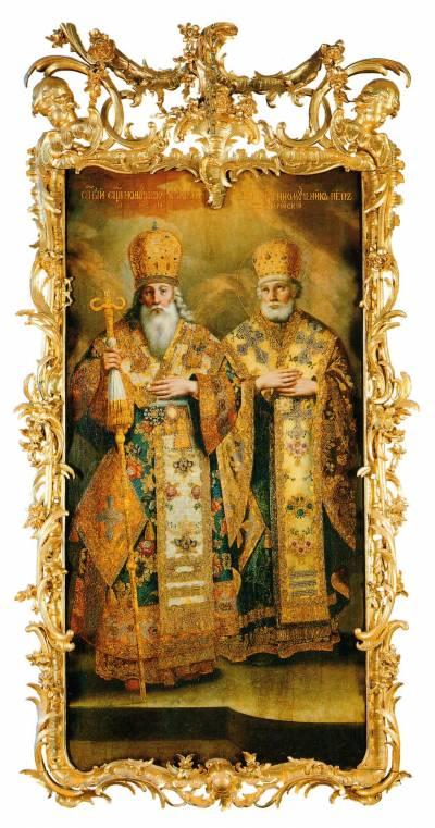 Святители Климент Папа Римский и Петр Александрийский
