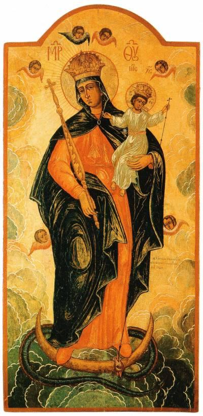 Икона Богоматери «На аспида и василиска наступиши»