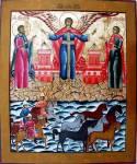 Чудо архангела Михаила о Флоре и Лавре