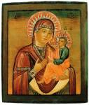 Грузинская икона Богоматери