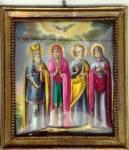 Праведные Захария, Елизавета, Иоаким и Анна