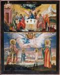 Святая Троица. Великомученик Евстафий Плакида, жена его Феопистия и чада их Агапий и Феопист