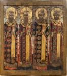 Святители Петр, Алексий, Иона и Филипп Московские