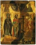 Антоний Великий, Константин и Елена, Параскева Пятница, неизвестная мученица и Богоматерь Знамение