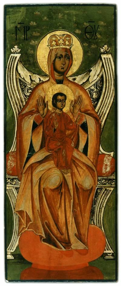 Испанская икона Богоматери