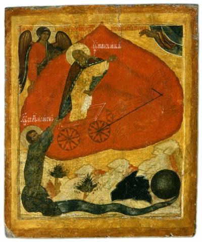 Огненное восхождение пророка Илии