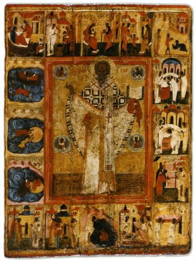 Святитель Николай Чудотворец (Никола Зарайский), с житием