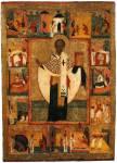 Святитель Николай Чудотворец, с житием в 16 клеймах