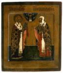 Святители Николай Чудотворец и Евфимий Новгородский