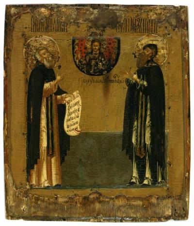 Преподобные Димитрий и Игнатий Прилуцкие