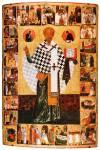 Святитель Николай Чудотворец, с житием в 28 клеймах
