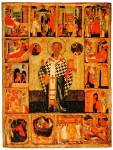 Святитель Николай Чудотворец, с житием в 14 клеймах