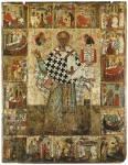 Святитель Николай Чудотворец (Зарайский), с житием