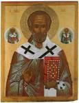 Святитель Николай Чудотворец, со святителями Климентом и Власием