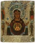 Богоматерь Знамение, с избранными святыми