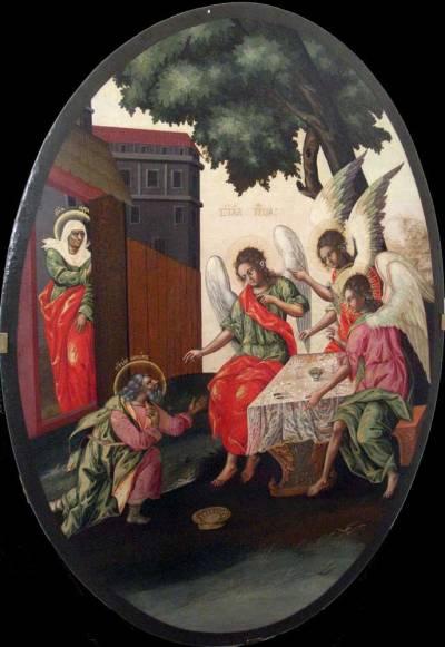Святая Троица (Гостеприимство Авраама)