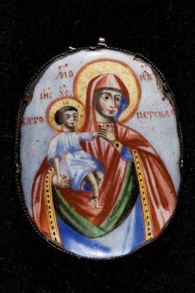 Ватопедская икона Богоматери («Отрада и Утешение»)