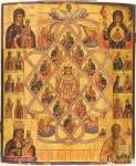 «Союзом любви связуемы апостолы», с избранными образами Богоматери, святителем Николаем Чудотворцем и святыми из Лечебника