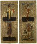 Святитель Василий Великий, блаженные Василий Московский, Прокопий Устюжский и Максим Московский