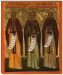 Преподобные Евфимий Великий, Антоний Великий и Савва Освященный