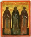 Преподобные Зосима и Савватий Соловецкие и Александр Свирский