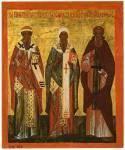 Святители Исаия и Игнатий Ростовские и преподобный Авраамий Ростовский
