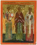 Святители Иоанн, Евфимий и Никита Новгородские