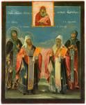 Святители Иоанн и Феодор, преподобные Евфимий и Евфросиния Суздальские