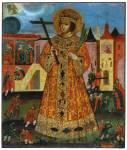 Святой царевич Димитрий Угличский, со сценами убиения