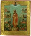Преподобная Мария Египетская, с житием