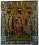 Святые владимирские князья Андрей Боголюбский, Георгий Всеволодович и Глеб Андреевич