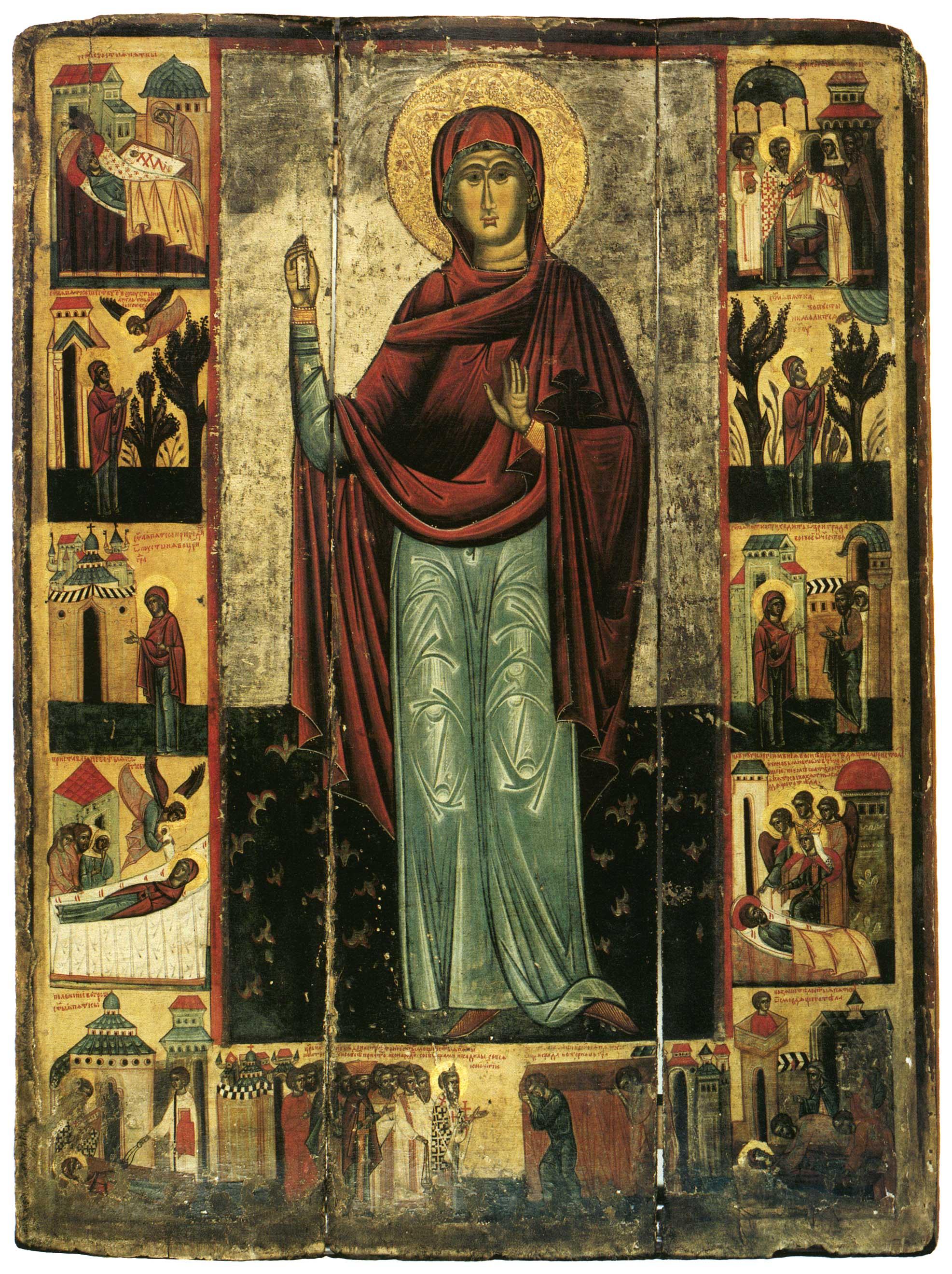 Святая Параскева Тырновская, с житием