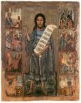 Святой Иоанн Креститель, с житием и образами евангелистов