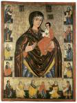 Богоматерь Одигитрия, с ветхозаветными пророками